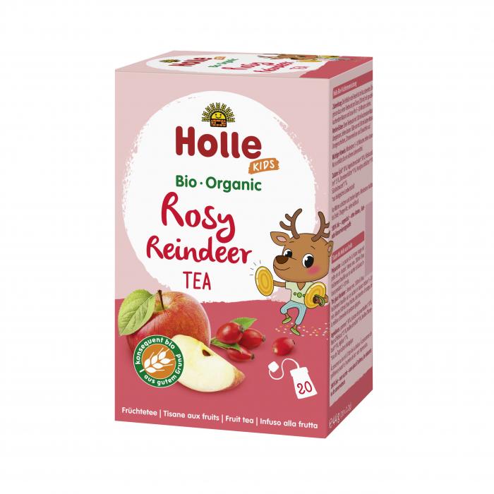Ceai BIO de fructe si plante pentru copii Rosy Reindeer 44g [0]