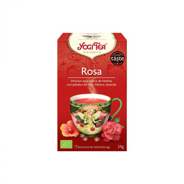 Ceai BIO de trandafiri 17 pliculete - 34 g Yogi Tea [0]