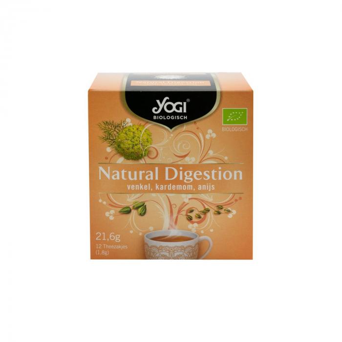 Ceai BIO digestie naturala, 12 plicuri - 21,6 g Yogi Tea [0]