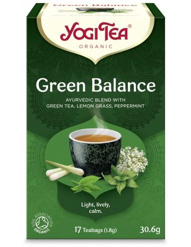 Ceai Bio ECHILIBRU VERDE, 17 pliculete 30.6g Yogi Tea [0]