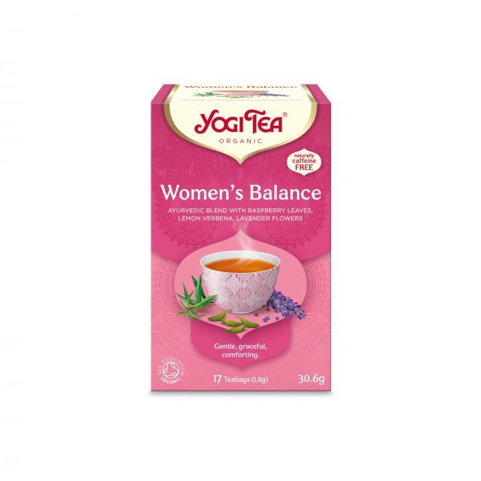 Ceai BIO echilibrul femeilor, 17 pliculete x 1,8g (30,6g) Yogi Tea [0]