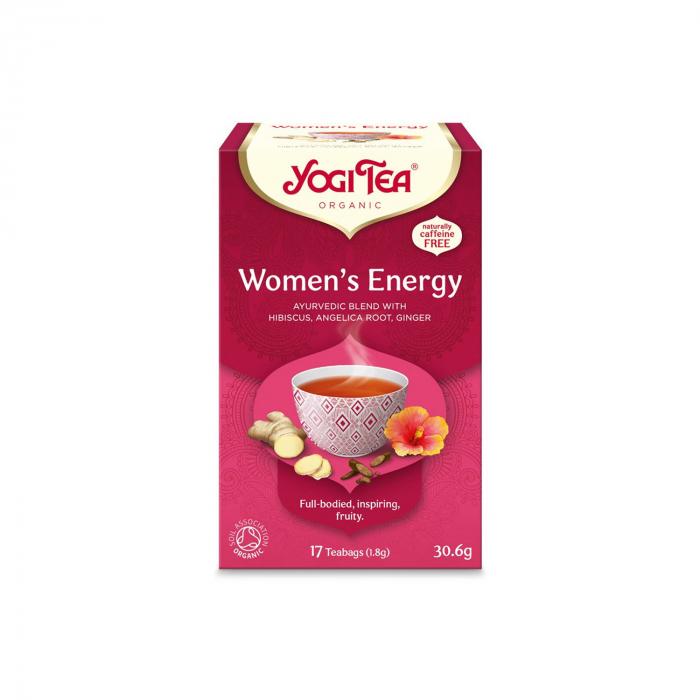 Ceai BIO energie pentru femei, 17 pliculete x 1.8 g, (30.6 g) Yogi Tea [0]