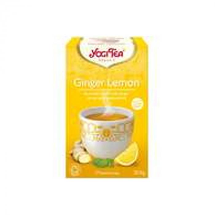 Ceai BIO ghimbir si lamaie, 17 pliculete - 30.6gr Yogi Tea [0]