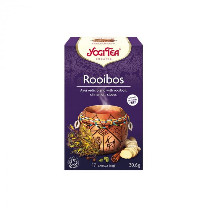 Ceai BIO rooibos, 17 pliculete - 30.6g Yogi Tea [0]