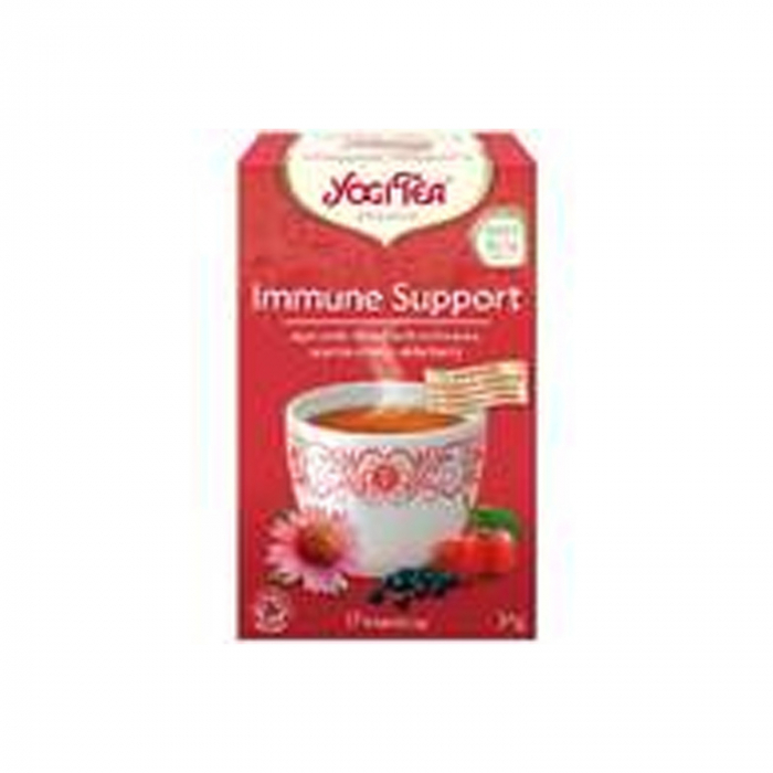 Ceai BIO sprijin imunitar, 17 pliculete - 34.0 g Yogi Tea [0]