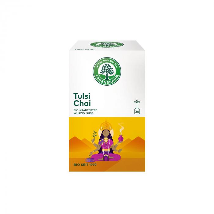 Ceai BIO Tulsi Chai x20 plicuri Lebensbaum 40g [0]