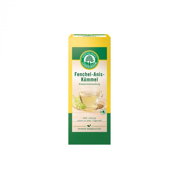 Ceai cu fenicul, anason si chimen Lebensbaum 50g [0]