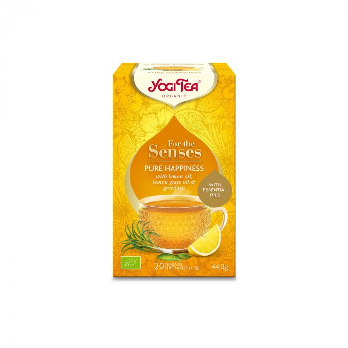 Ceai cu ulei esential, fericire pura, BIO 44g Yogi Tea [2]