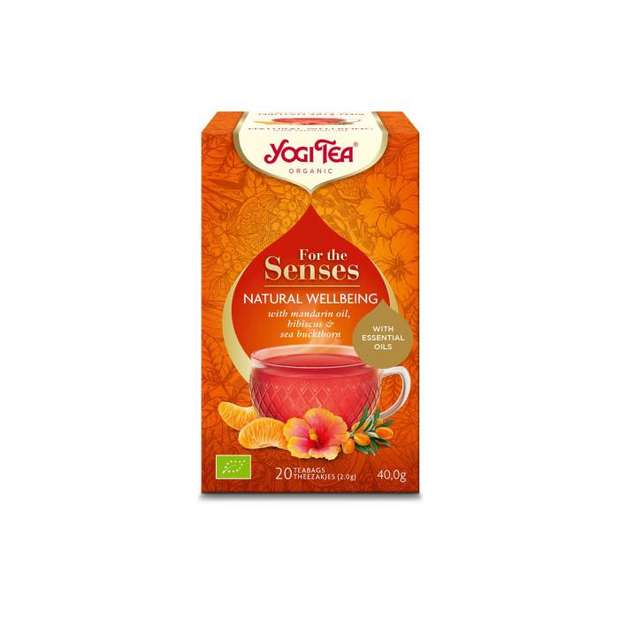 Ceai cu ulei esential, natural wellbeing, BIO 40g Yogi Tea [0]
