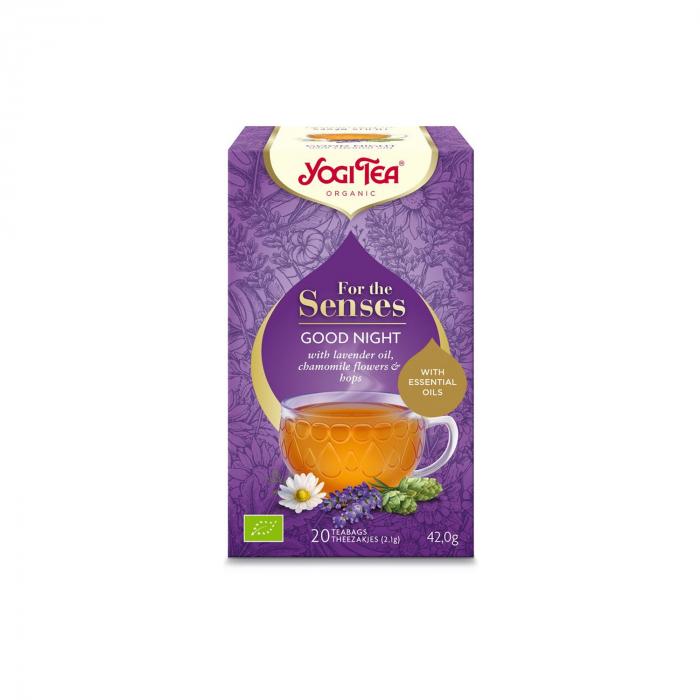 Ceai cu ulei esential, noapte buna, BIO 42g Yogi Tea [2]