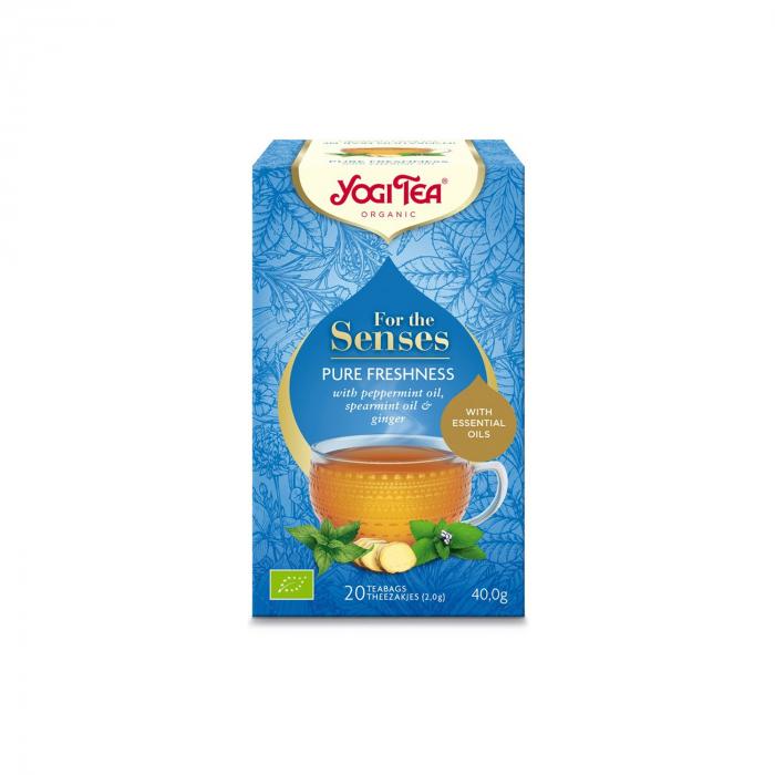 Ceai cu ulei esential, prospetime pura, BIO 40g Yogi Tea [2]