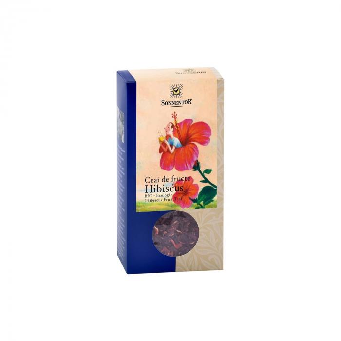 Ceai Fructe Hibiscus 80G ECO [0]