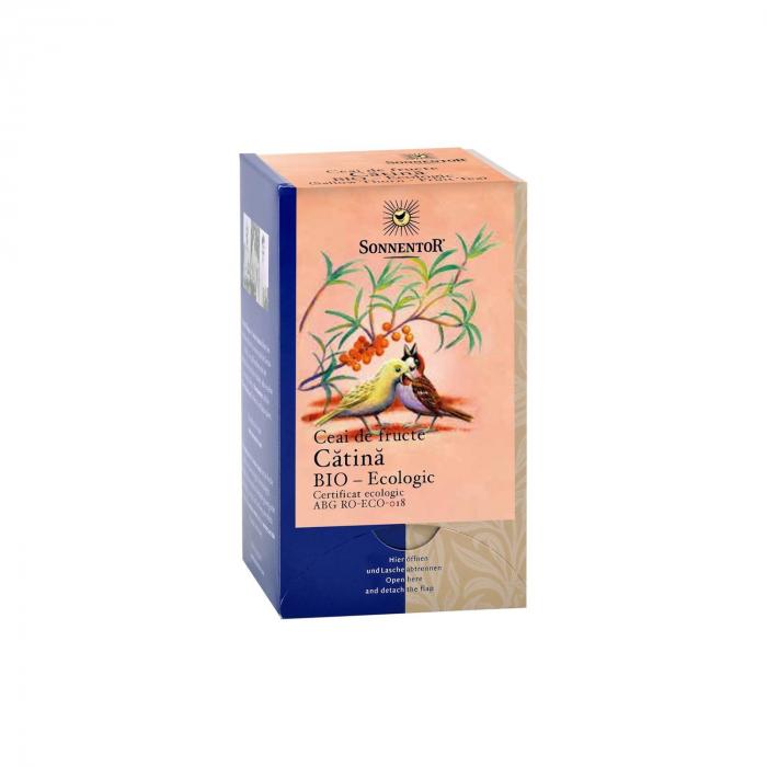 Ceai Plic Fructe Catina 18Dz ambalate indiv ECO [0]