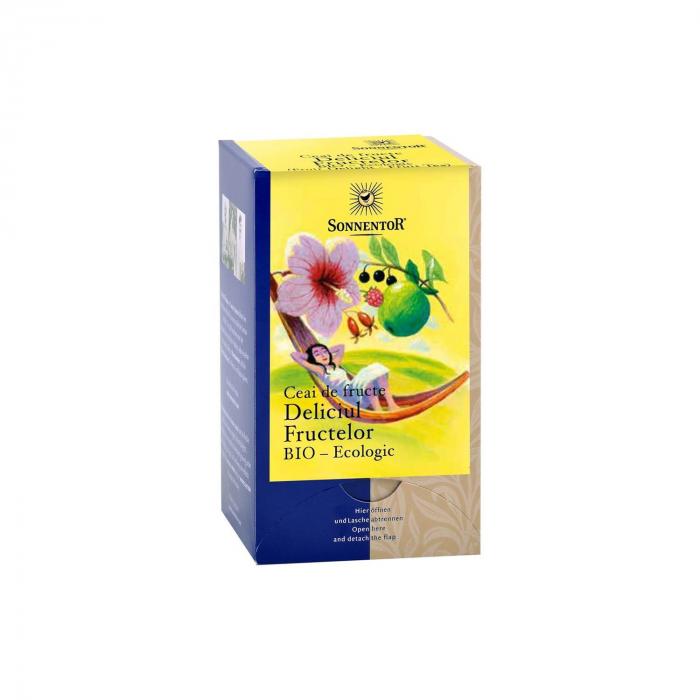 Ceai Plic Fructe Deliciul Fr. 18Dz ambalate indiv ECO [0]