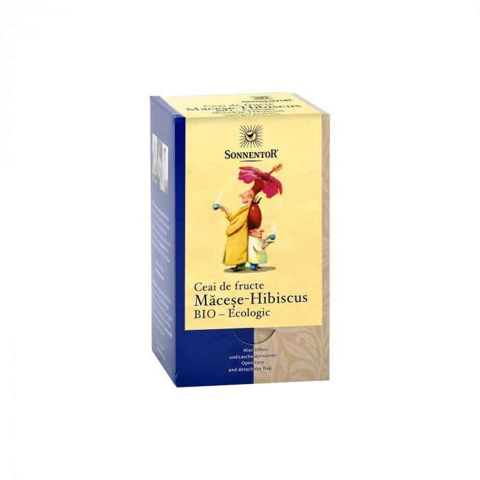 Ceai Plic Fructe Macese Hibiscus 18Dz ambalate indiv ECO [0]