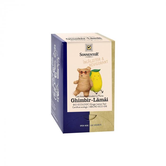 Ceai Plic Ghimbir Lamai 18Dz ambalate indiv ECO [0]