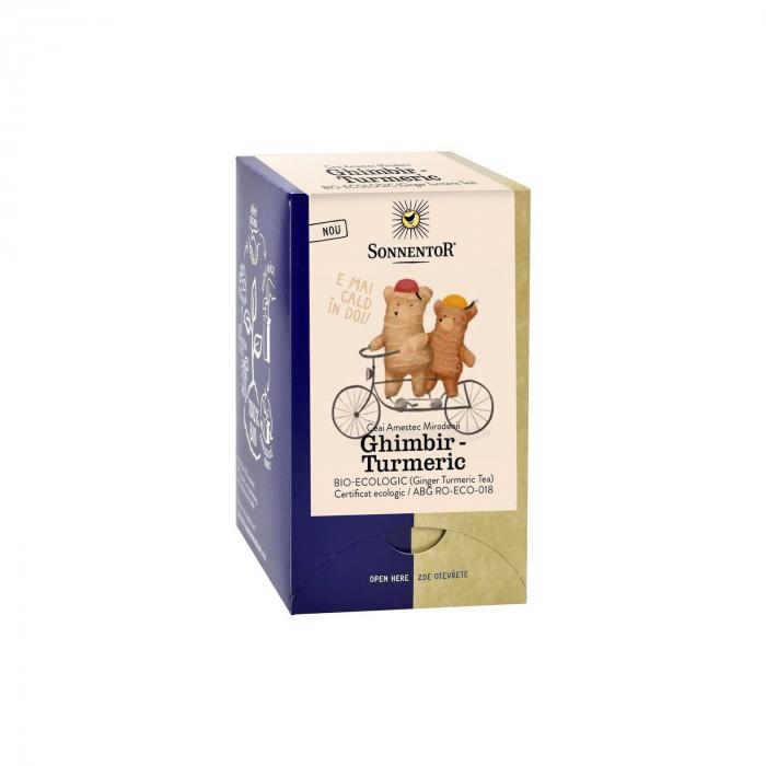 Ceai Plic Ghimbir Turmeric 18Dz ambalate indiv ECO [0]