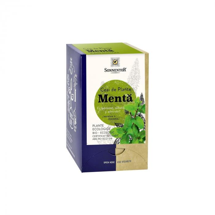 Ceai Plic Plante Menta 18Dz ambalate indiv ECO [0]