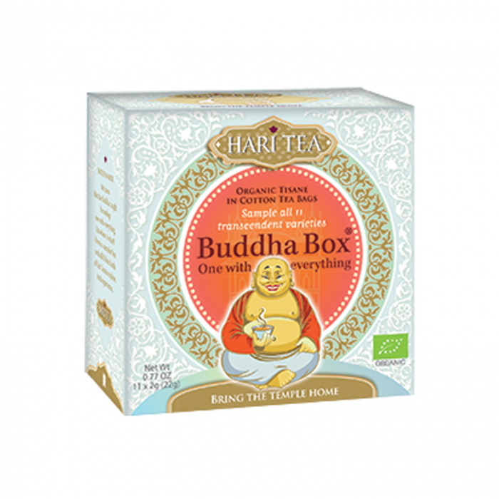 Ceai Premium - Budha Box - Cutie Cu Toate Cele 11 Ceaiuri Hari Tea Bio 11Dz [0]