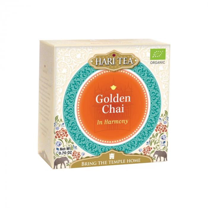 Ceai Premium Hari Tea - In Harmony - Golden Chai Bio 10Dz [0]