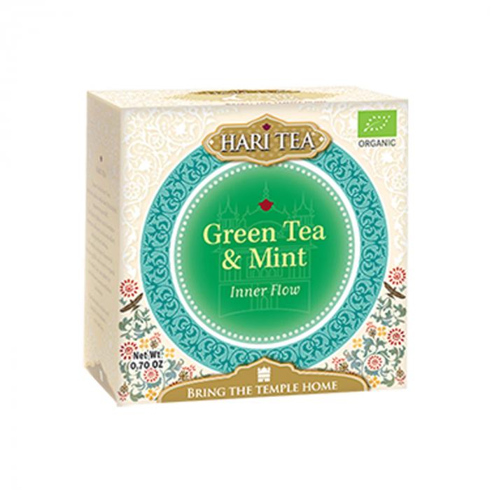 Ceai Premium Hari Tea - Inner Flow - Ceai Verde si Menta Bio 10Dz [0]