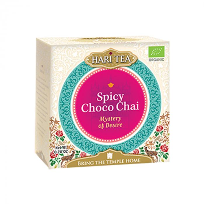Ceai Premium Hari Tea - Mystery Of Desire - Spicy Choco Chai Bio 10Dz [0]