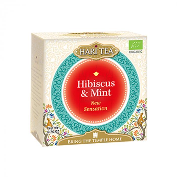 Ceai Premium Hari Tea - New Sensation - Hibiscus si Menta Bio 10Dz [0]