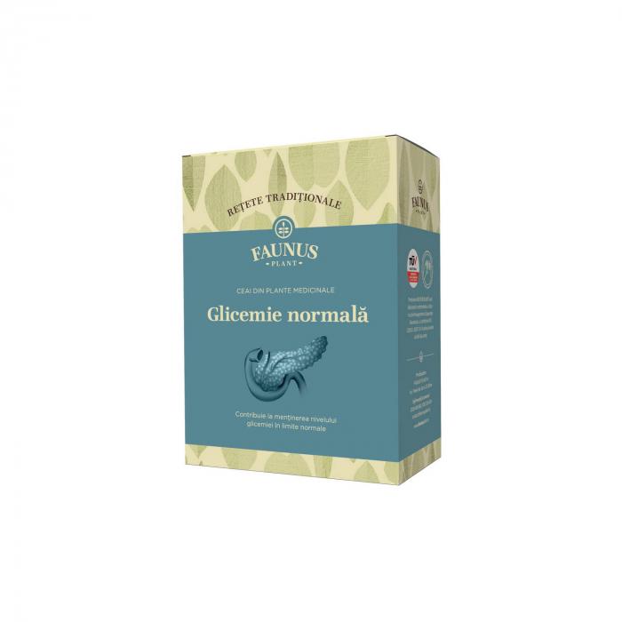"""Ceai """"Retete Traditionale"""" Glicemie Normala 180G Faunus Plant [0]"""