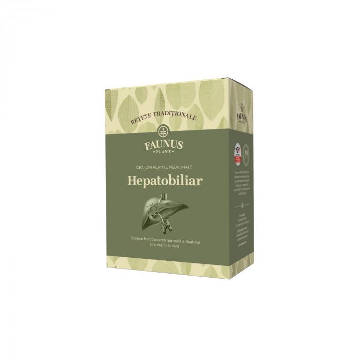 """Ceai """"Retete Traditionale"""" Hepatobiliar 180G Faunus Plant [0]"""