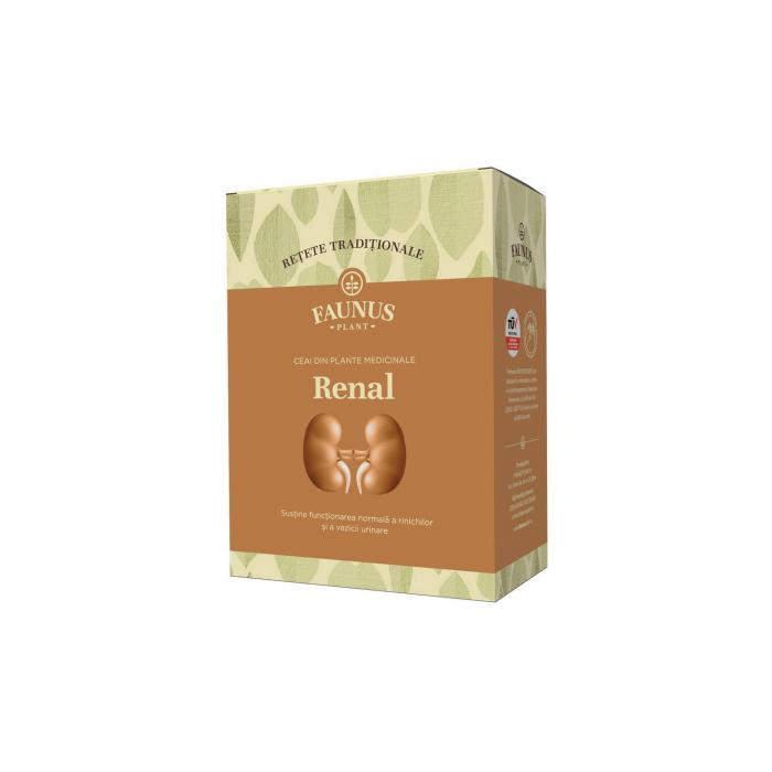 "Ceai ""Retete Traditionale"" Renal 180G Faunus Plant [0]"