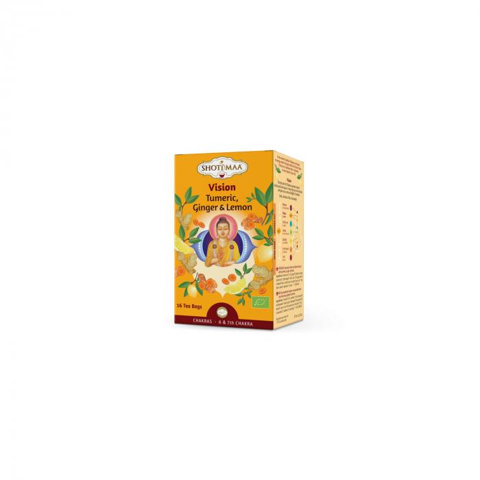 Ceai Shotimaa Chakras - Delighted - Ghimbir si Lamaie Bio 16Dz [0]