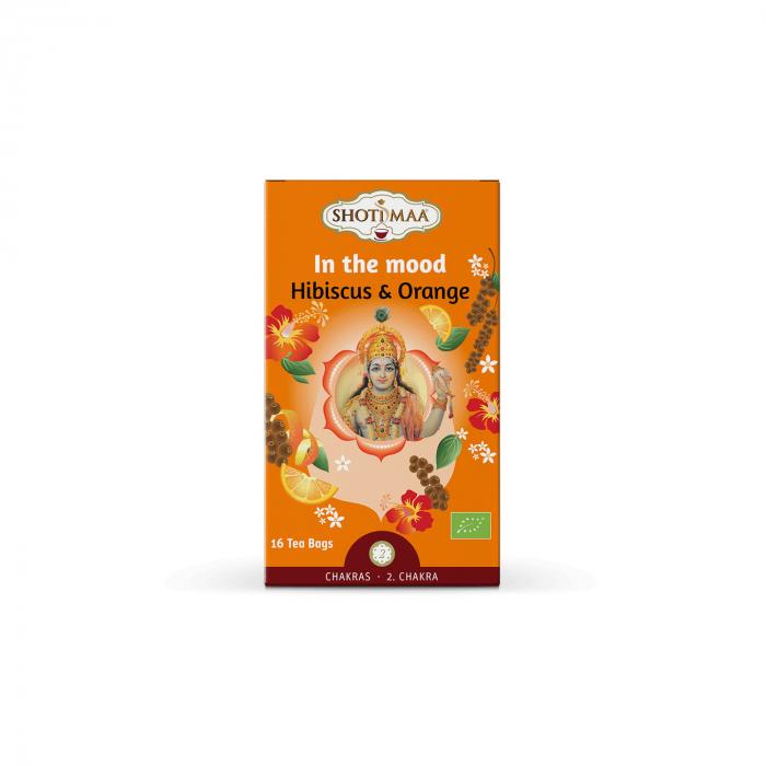 Ceai Shotimaa Chakras - In The Mood - Hibiscus si Portocale Bio 16Dz [0]