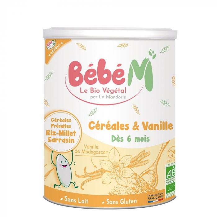 Cereale cu vanilie pentru bebeluși - de la 6 luni 400g [0]