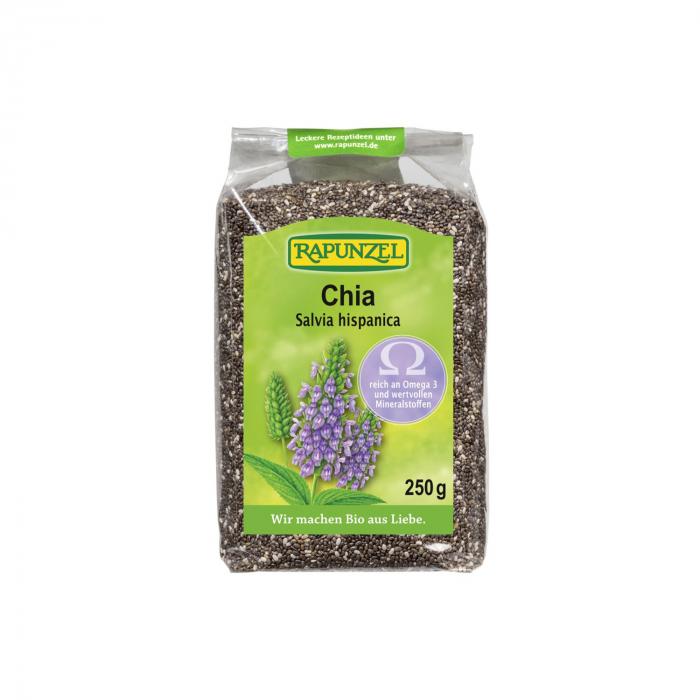 Chia seminte ecologice Rapunzel 250g [0]