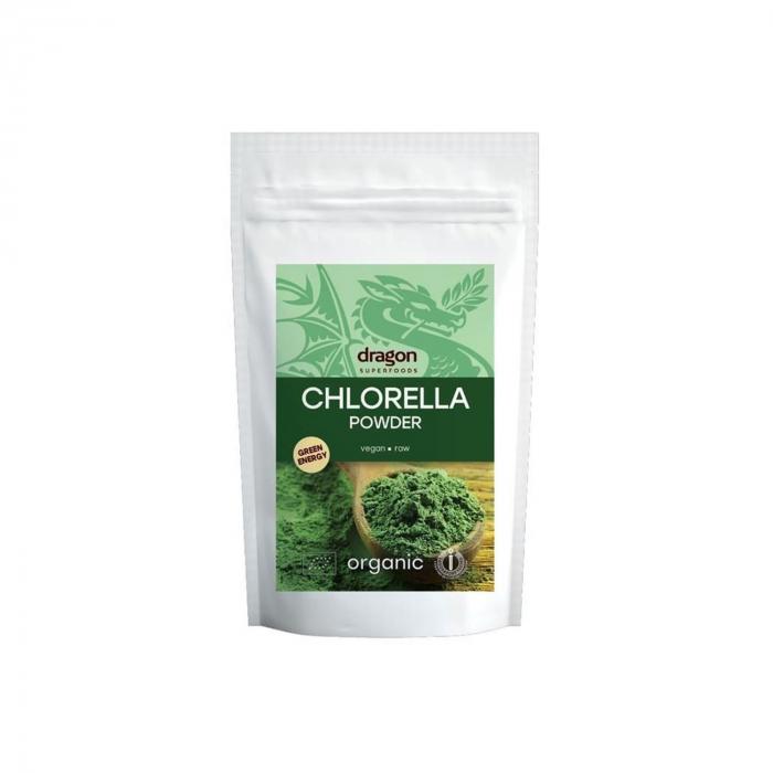 Chlorella pulbere raw BIO 200g [0]