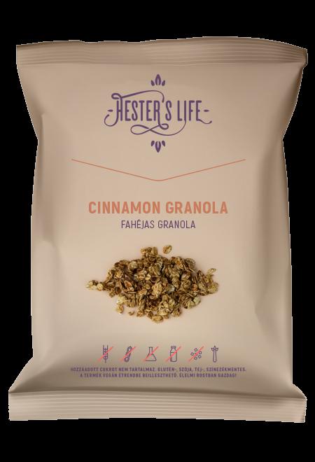 Cinnamon Granola cu fulgi de ovaz crocant si scortisoara, fara zahar adaugat si fara gluten 60g [0]