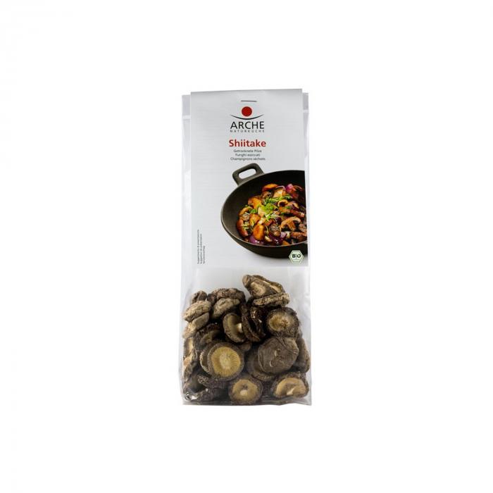 Ciuperci shiitake BIO uscate, 40g  [0]