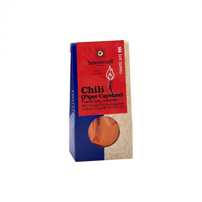 Condiment Chili Foarte Iute Macinat (Piper Cayenne) 40G ECO [0]