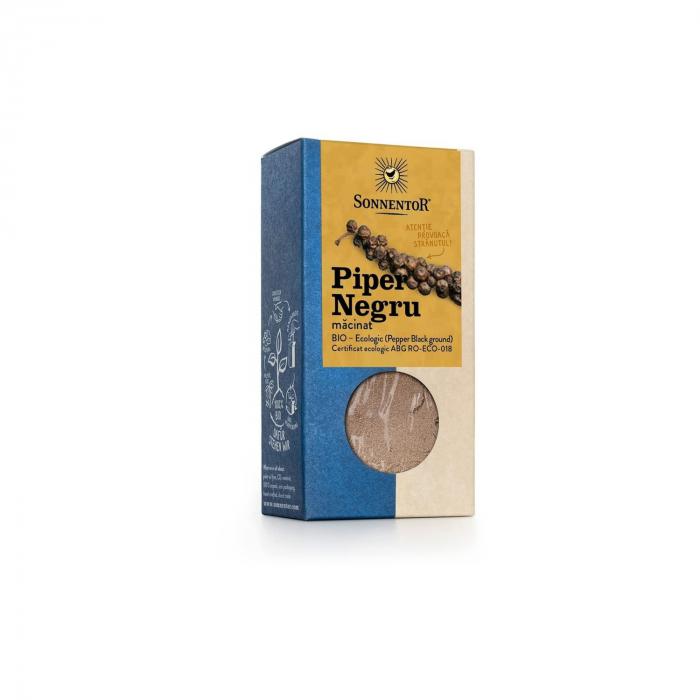 Condiment Piper Negru Macinat Org. 50G ECO [0]