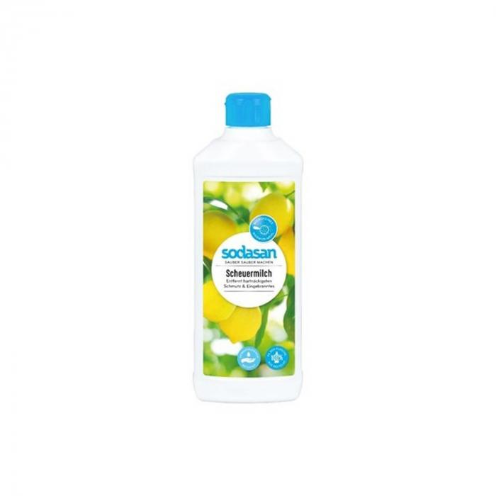 Crema abraziva BIO pentru curatat suprafete 500 ml Sodasan [0]