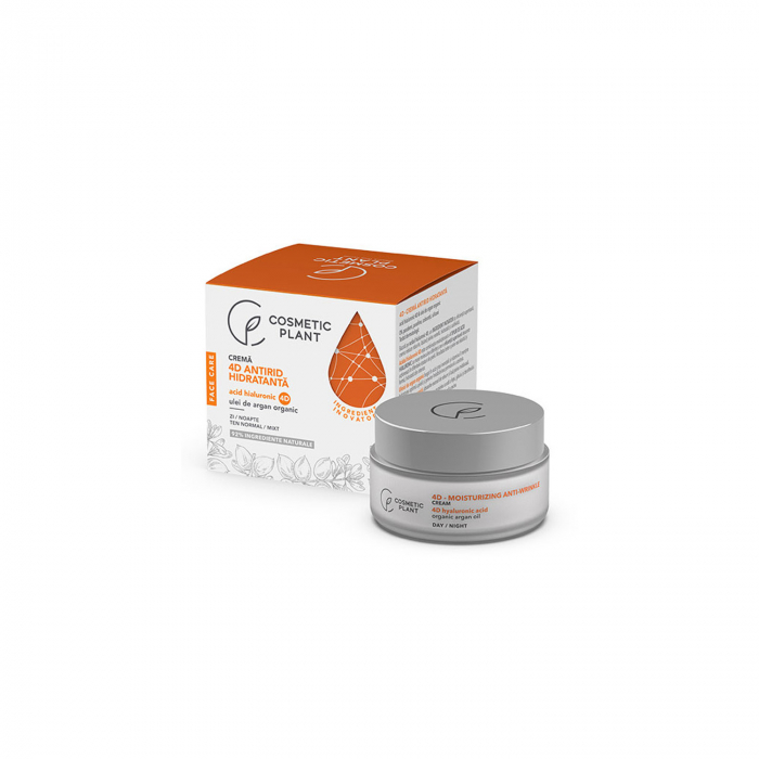 Crema Antirid Hidratanta cu Acid Hialuronic 4D 50ml Face Care [0]