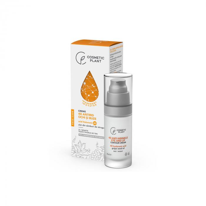Crema Antirid Ochi si Buze cu Acid Hialuronic 4D 30ml Face Care [0]