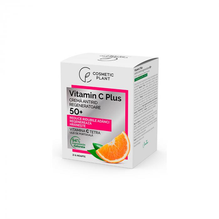 Crema Antirid Regeneratoare 50+ Vitamin C Plus 50ml [0]
