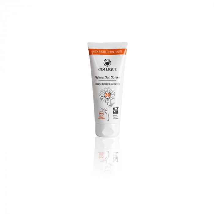 Crema BIO protectie solara SPF 30 cu musetel, zinc si unt de shea pt piele sensibila, Odylique 50ml [0]