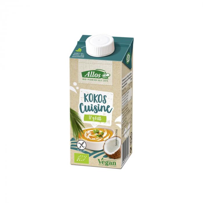 Crema de cocos bio pentru gatit 200ml [0]