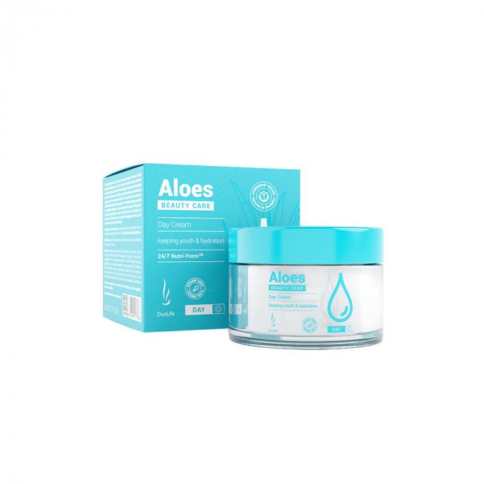 Crema de zi Aloes DuoLife Beauty Care 50 ml [0]