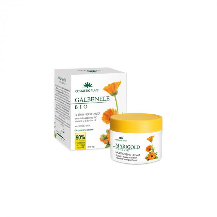Crema Hidratanta cu Extract Galbenele Eco Spf15 50ml [0]