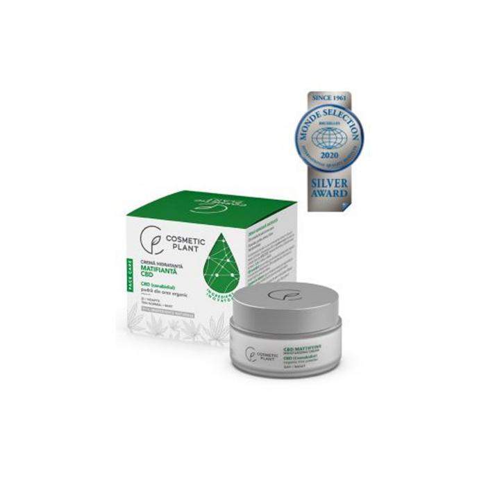Crema Hidratanta Matifianta cu Canabidiol 50ml Face Care [0]