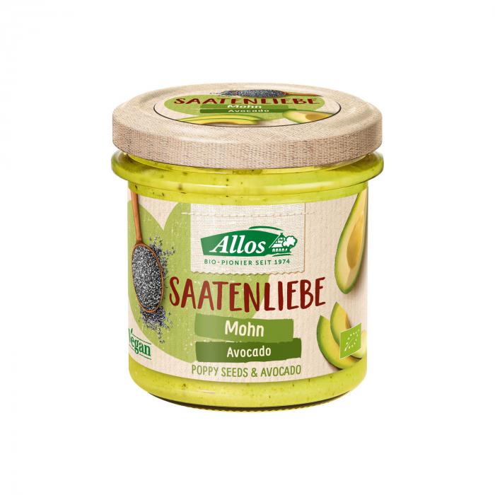 Crema tartinabila din seminte de mac si avocado FARA GLUTEN 135g [0]