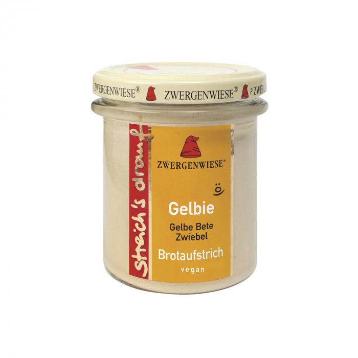 Crema tartinabila vegetala bio Gelbie cu sfecla galbena si ceapa Zwergenwiese 160g [0]